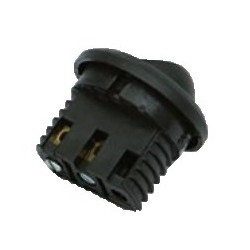 Interruptor embutir negro