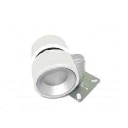 Rueda gris y plata sin freno F6