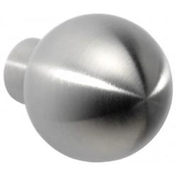 Pomo ovalado base cilindrica 20mm