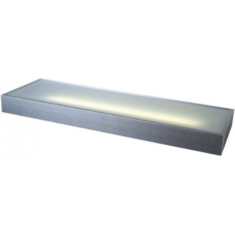 Fluorescente, repisa luminosa  marco  aluminio de 1200mm