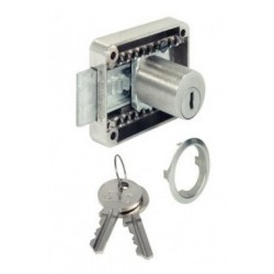 Cerradura cajon-puerta regulable