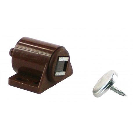 Cierre magnético marron