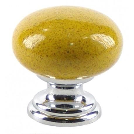 Pomo silestone amarillo gea