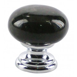 Pomo marmol labrador oscuro