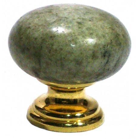Pomo marmol verde eucalipto