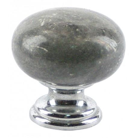Pomo marmol gris portugues
