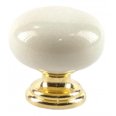 Pomo mármol blanco portugués