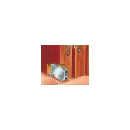 Burlete embutir para puerta de 65 a 82mm