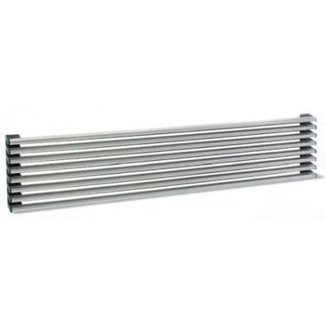 Rejilla de ventilación 8 varillas plata