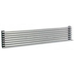 Rejilla de ventilación 8 varillas cromo
