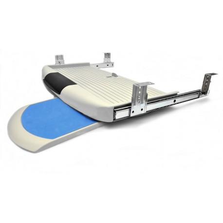 Porta-teclado con soporte ratón