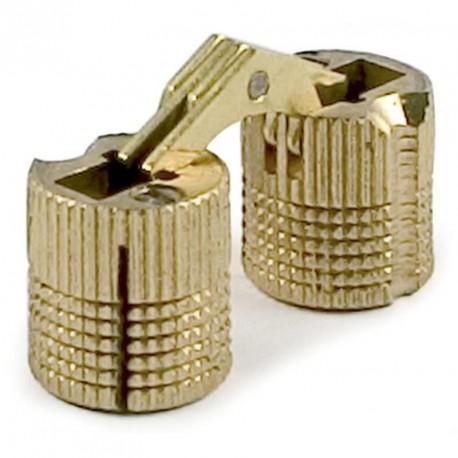 Bisagra embutir para madera 10 12 14 16 18 26 bricca for Bisagras para muebles de madera