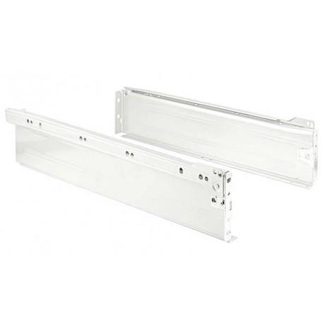 Lateral metálico para cajon H150 blanco
