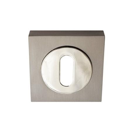 Juego de bocallaves cuadrado oval puerta 50mm