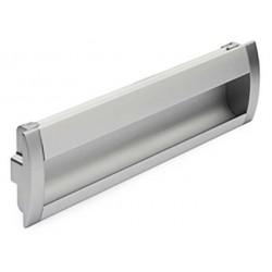 Tirador Aluminio para embutir de 160