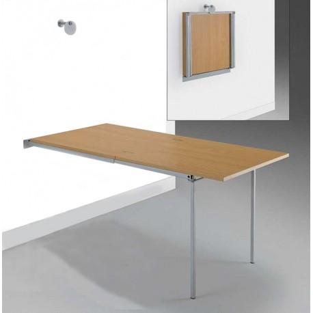 Estructura para mesa de cocina apartamento plegable y extensible
