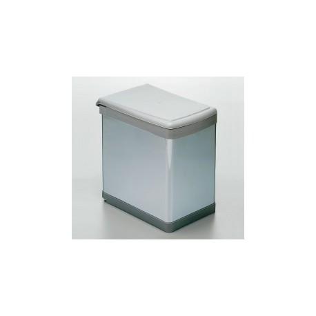 Cubo de basura rectangular fijo
