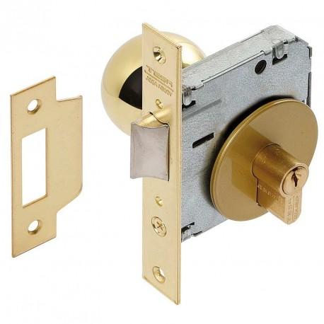 Cerradura con llave pomo