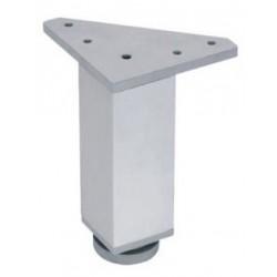 Pata de aluminio cuadrada 100
