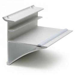 Soporte para estante de cristal de 10mm