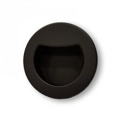Tirador redondo negro