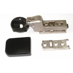 Bisagra cazoleta 30mm clip para cristal