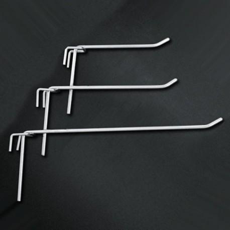 Ganchos simples para panel perforado