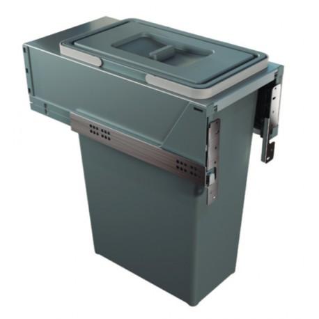 Cubo de basura con guias extraccion total Mod-30