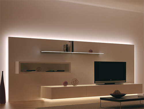 Nuevas ideas de iluminacion para muebles e interiorismo blog de bricca - Luces led para salon ...
