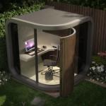 La oficina en el jardin.