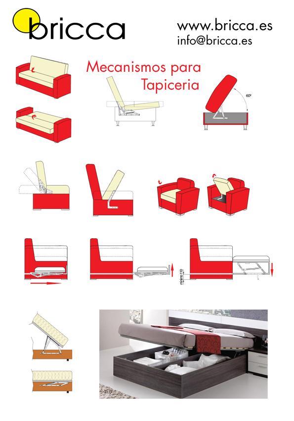Mecanismo para puff archivos blog de bricca - Mecanismo para camas abatibles ...