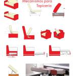 Herrajes, accesorios y mecanismos para tapicería.