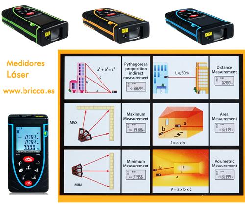 Medidor laser o telemetro