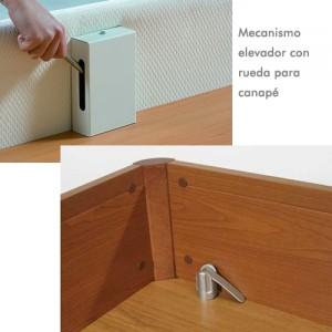 Mecanismo-elevador-con-rueda-para-canape