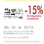 Maquinaria y accesorios -15%