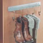 Cuelga botas, accesorios muy practicos