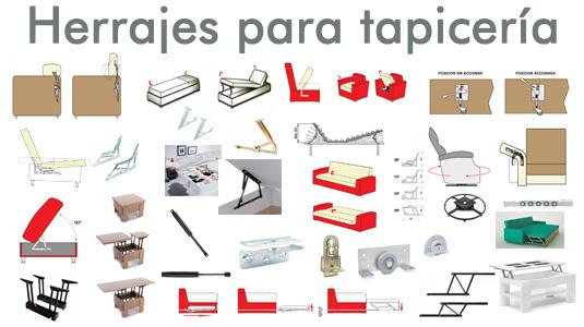 Mecanismos y herrajes de tapicer a blog de bricca - Herrajes para canapes ...