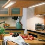 Luz en la cocina, facil de instalar