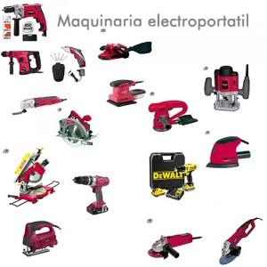 Maquinaria electroportatil